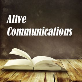 Alive Communications - USA Literary Agencies