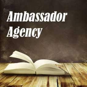 Ambassador Agency - USA Literary Agencies