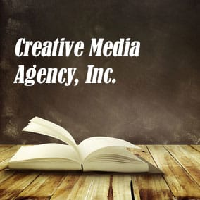 Literary Agencies and Literary Agents – Creative Media Agency, Inc.