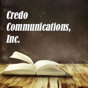 Credo Communications Inc - USA Literary Agencies