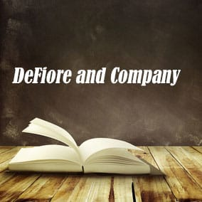 DeFiore and Company - USA Literary Agencies
