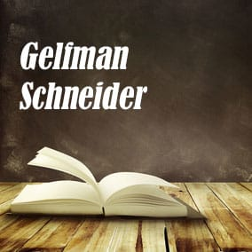 Gelfman Schneider - USA Literary Agencies