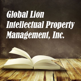 Global Lion Intellectual Property Management Inc - USA Literary Agencies