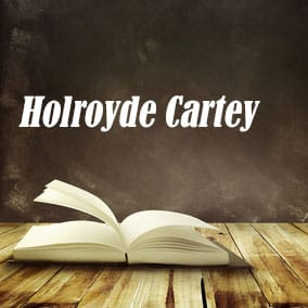 Holroyde Cartey - USA Literary Agencies