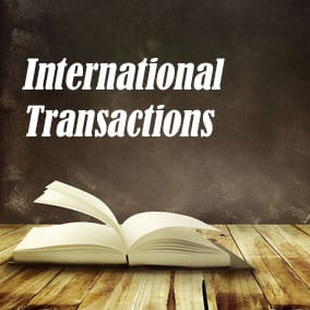 International Transactions - USA Literary Agencies