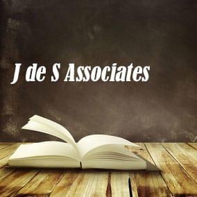 USA Literary Agencies and Literary Agents – J de S Associates