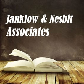 Janklow Nesbit Associates - USA Literary Agencies