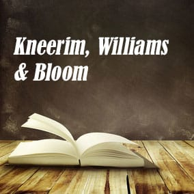 Kneerim Williams and Bloom - USA Literary Agencies