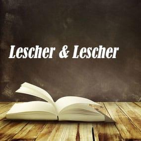 Lescher and Lescher - USA Literary Agencies