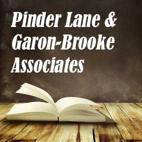 Pinder Lane and Garon Brooke Associates - USA Literary Agencies