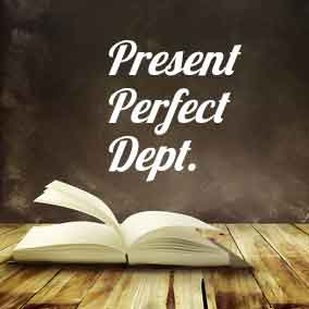 USA Literary Agencies and Literary Agents – Present Perfect Dept.