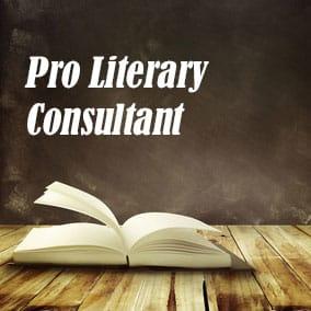 Pro Literary Consultant - USA Literary Agencies