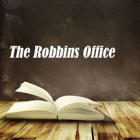 Robbins Office - USA Literary Agencies