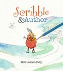 Book Cover of Scribble and Author by Children's Book Author Miri Lehsem-Pelly