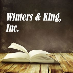 Winters and King Inc - USA Literary Agencies
