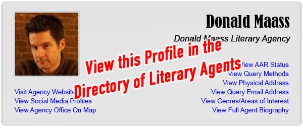 Donald Maass Literary Agency - View this Profile